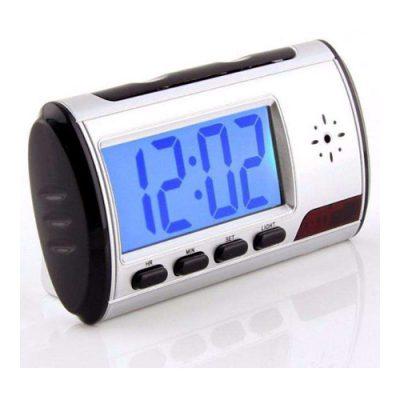 ساعت دوربین دار دیجیتال رومیزی – ساعت رومیزی با دوربین مخفی